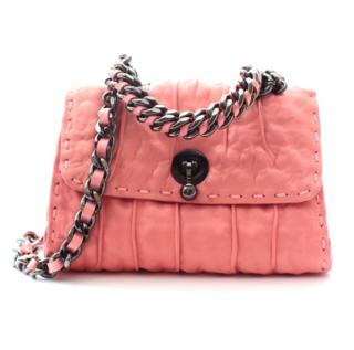 Ermanno Scervino Baby Pink Faubourg Crossbody Bag