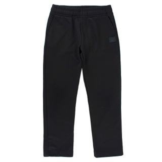 Acne Studios Black Elasticated Joggers
