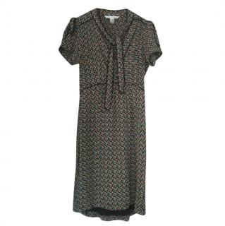 Diane Von Furstenberg Miss Kitt Tea Dress