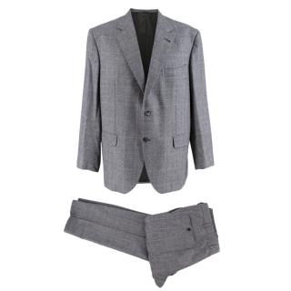 Donato Liguori Grey Single Breasted Hand Tailored Suit