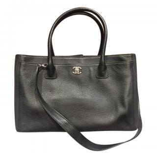 Chanel Black Leather Executive Cerf Tote