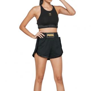 Charlotte Olympia x Puma drawstring black shorts