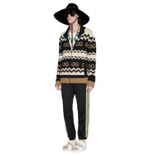 Gucci Tonal GG Mirror Wool Jacket