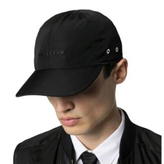 1017 ALYX 9SM Black Logo plaque cap