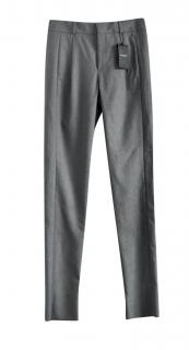 Saint Lauretn grey wool trousers