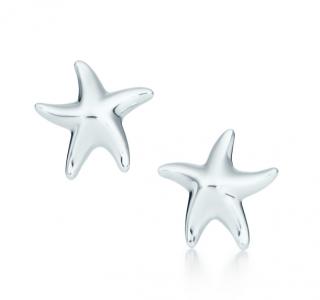 Tiffany & Co. Elsa Peretti Sterling Silver Starfish Earrings