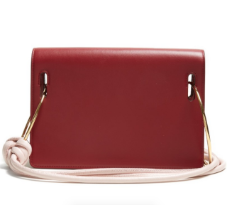 Roksanda Burgundy Dia Calfskin Shoulder Bag