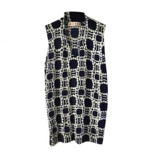 Marni 100% Cashmere Sleeveless Jumper