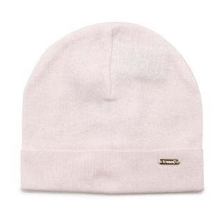 Il Trenino Pale Pink Soft Cotton Artisanal Beanie