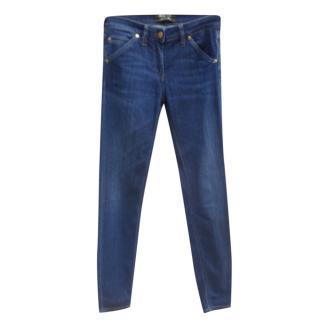 Just Cavalli Blue Skinny Jeans