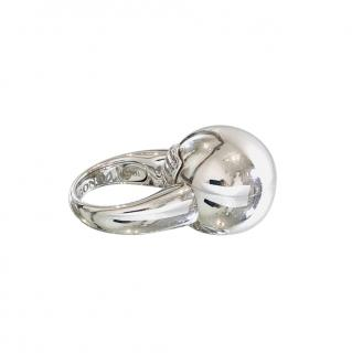 De Grisogono 18k White Gold Boule Ring