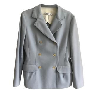 Jil Sander Blue Tailored Jacket