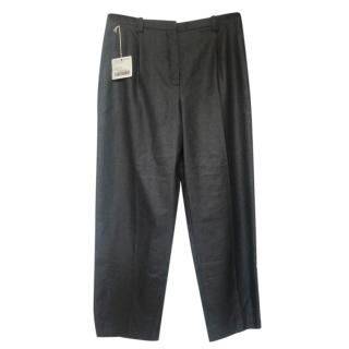 Hermes Anthracite Prince De Galle Cahsmere Pants