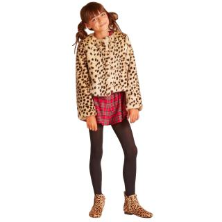 Wild & Gorgeous  Faux Fur Leopard Coat