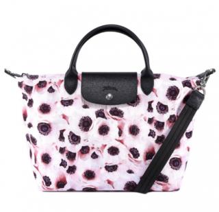 Longchamp Poppy Print Le Pliage Bag