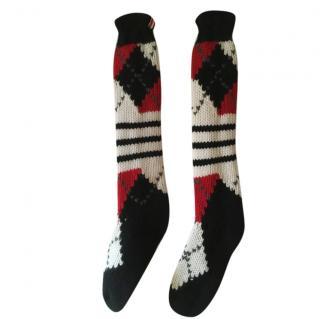 Balmain Cashmere Knit Socks