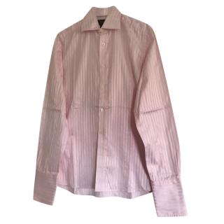 Duchamp Pink Striped Shirt