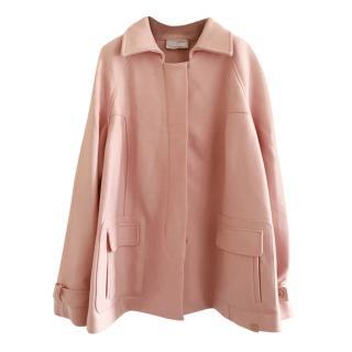 Voyage by Marina Rinaldi Pink Wool Blend Jacket