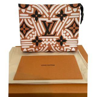 Louis Vuitton LV Crafty Pochette Toilette