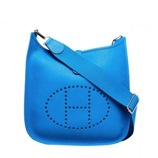 Hermes Clemence Leather Evelyne III