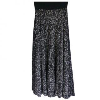 Celine by Phoebe Philo Wool Melange Skirt