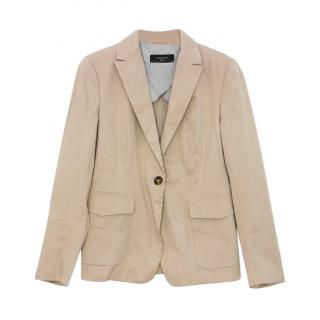 Max Mara Beige Tailored Jacket