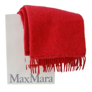 Max Max Red Camel Teddy Shawl