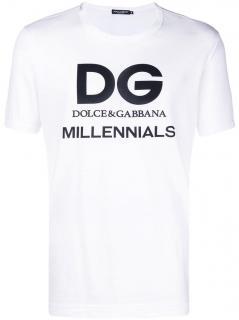 Dolce & Gabbana D&G Millennials Mens T-Shirt