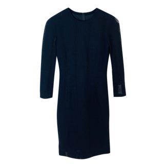 Rag & Bone Knit Black Dress