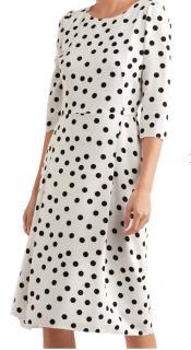 Dolce & Gabbana iconic polka dot silk dress