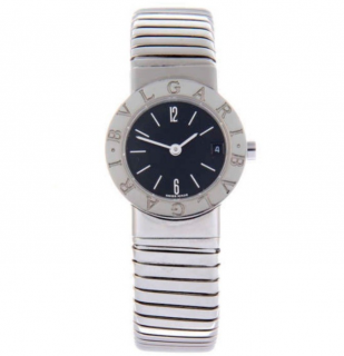 Bvlgari Tubogas Stainless Steel Bracelet Watch