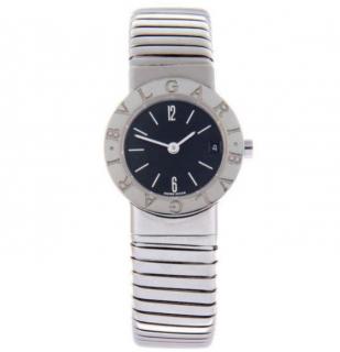 Bvlgari Tubogas Stainless Steel Bracelet Watch