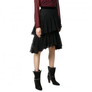 Philosophy Di Lorenzo Serafini Tiered Lace Asymmetric Skirt