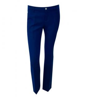 Gucci Blue Tailored Pants