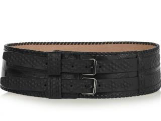 Roberto Cavalli Croc-effect leather waist belt