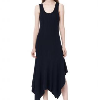 Alexander Wang Asymmetric Rib Knit Dress