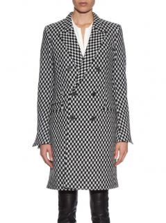 Haider Ackermann Checkerboard Double Breasted Coat