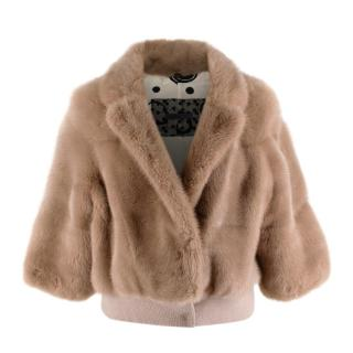 Simonetta Ravizza Beije Mink Fur Jacket