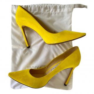 Jimmy Choo Love 100 Saffron Pumps
