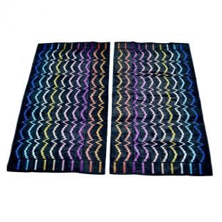 Missoni Home pair of bath towels