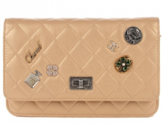 Chanel Gold Lucky Charms Reissue Wallet On Chain