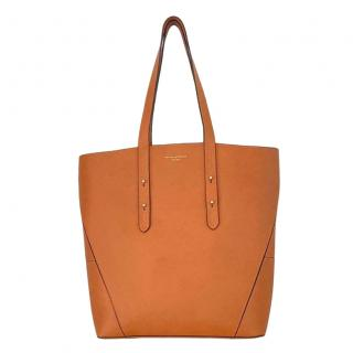 Aspinal of London Editors A Tan Leather Tote