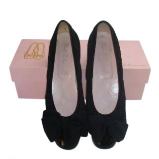 Pretty Ballerinas Black Patent Flats