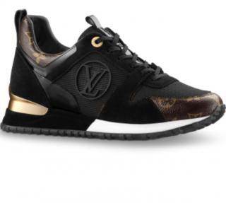 Louis Vuitton Black/Monogram Run Away Sneakers