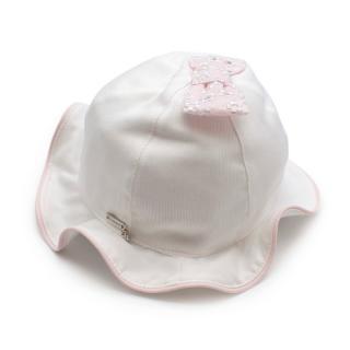 Il Trenino Artisanal Cotton Embroidered Baby Bucket Hat