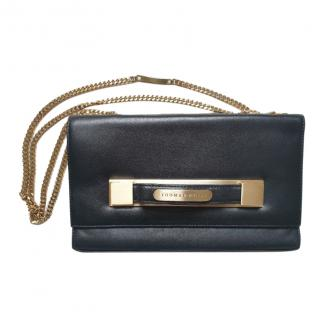 Thomas Wylde Black Chain Flap Bag