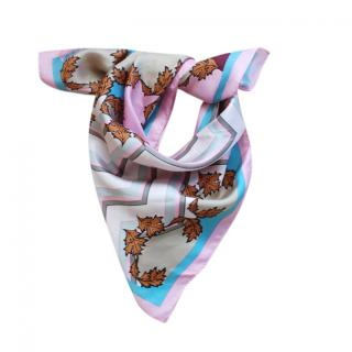 Marella Multicoloured Silk Floral Foulard