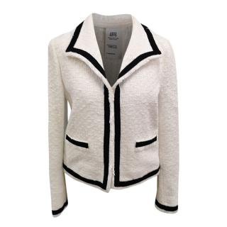 Moschino White Single Breasted Jacket