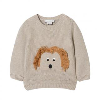 Stella McCartney Kids Dog Face Jumper