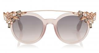 Jimmy Choo Embellished VIvy Sunglasses